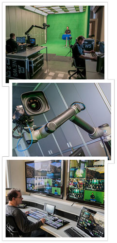The system was used lately by KSTMoschkau in their test virtual studio together with Panasonic AK-UB300 camera