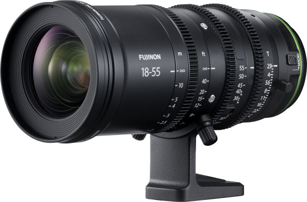 Fujifilm: FUJINON MKX18-55mmT2.9