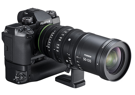 Fujifilm X-H1 with Fujinon MKX50-135mmT2.9