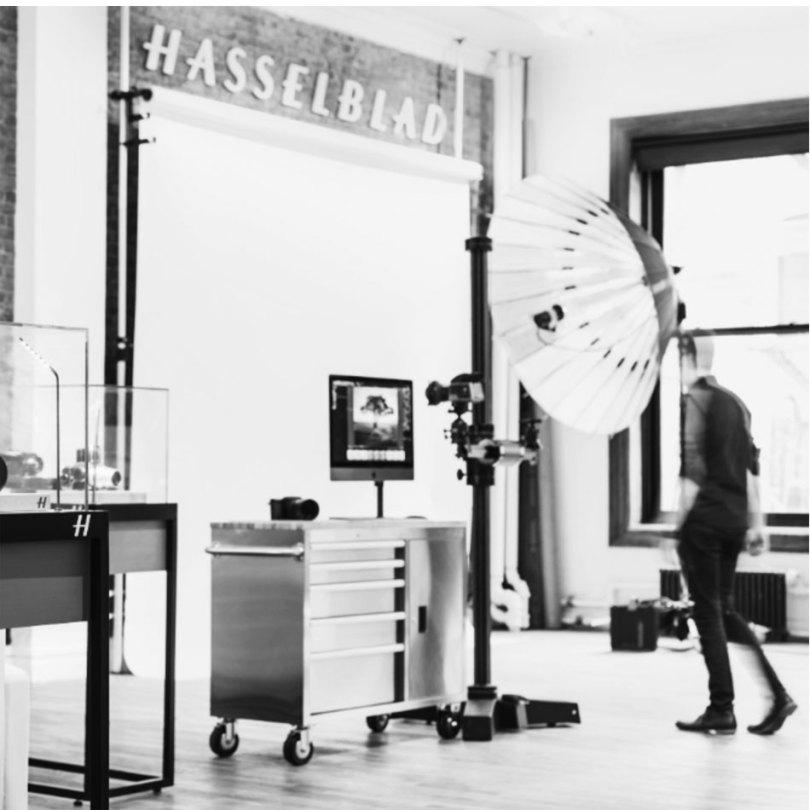 Hasselblad Studio in New York City: Image Courtesy of Hasselblad