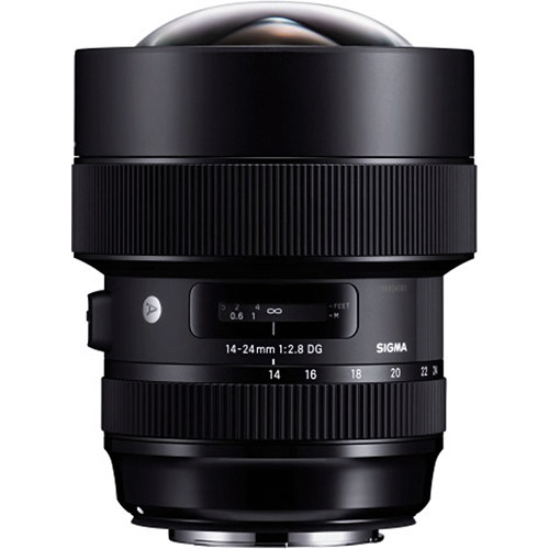Sigma's Front Conversion Service for the 14-24mm F2.8 DG HSM | Art lens