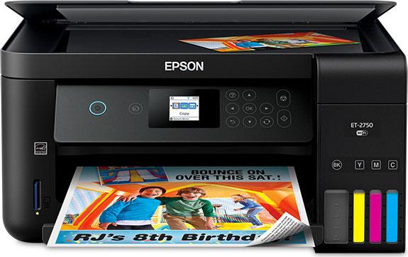 Epson Expression ET-2750 EcoTank All-in-One Supertank Printer