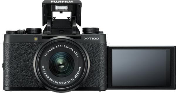FUJIFILM X-T100, Black