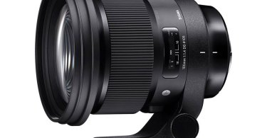 SIGMA 105mm F1.4 DG HSM | Art with removable Arca-Swiss Tripod Socket (TS-111)