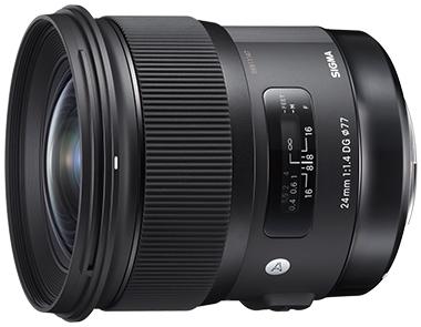 SIGMA 24mm F1.4 DG HSM Art lens for Sony E-mount