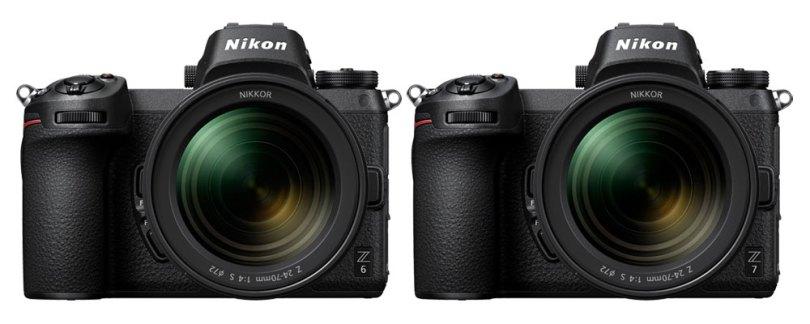 Left: Nikon Z 7, Right: Nikon Z 6