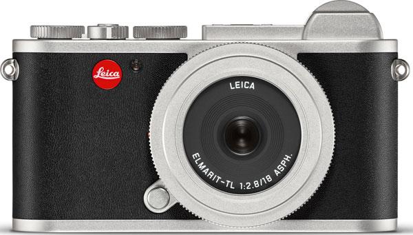 Leica CL Prime Kit, Silver with 18mm f/2.8 Elmamrit-TL pancake lens