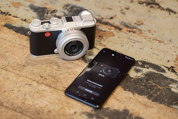 New Leica FOTOS App can also be used with the Leica CL