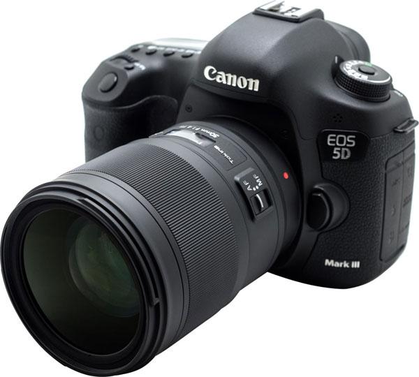 Tokina opera 50mm F1.4 FF with Canon EOS 5D Mark III