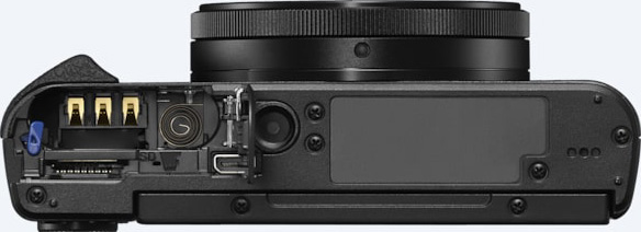 Sony Cyber-shot HX99: bottom view