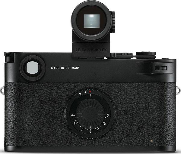 Leica M10-D: Optional Leica Visoflex 020 EVF