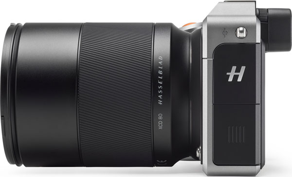 Hasselblad X1D-50c mirrorless medium format camera with Hasselblad XCD 80mm F1.9