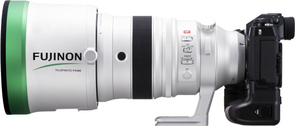 Fujinon XF200mmF2 R LM OIS WR lens and X-H1 camera