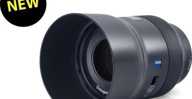 ZEISS Batis 2/40 with lens hood