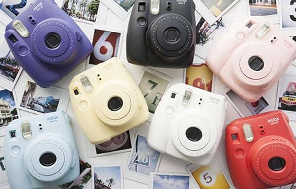 Fujifilm instax instant cameras
