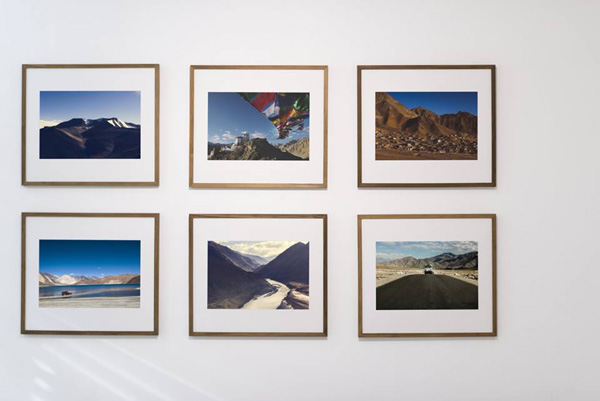 "Fujifilm Canada: ""From on the road to on the wall."" Images Courtesy of Fujifilm"