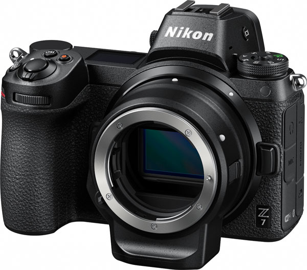 Nikon Z 7 with the Mount Adapter FTZ