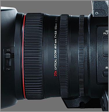 Panasonic AG-CX350: Manual Three Rings for zoom, focus and iris control
