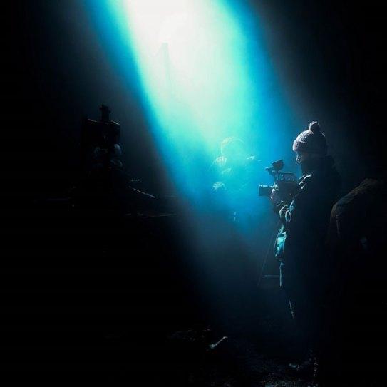Panasonic AU-EVA1: Use of the EVA1 in dark environment: Photo by Charlie Ray
