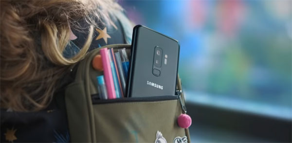 Samsung Galaxy 10: Image grab from video teaser