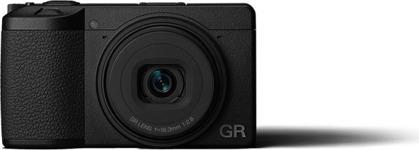 RICOH GR III: Top view