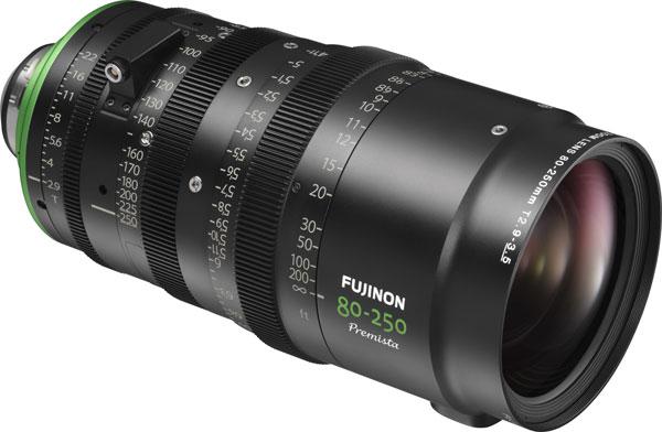 FUJINON Premista 80-250mm T2.9-3.5 Telephoto Lens (Under Development)