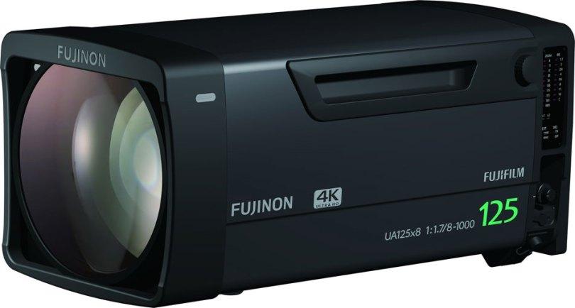 Fujiflm Fujinon UA125x8 F1.7 with 8-1,000mm Range