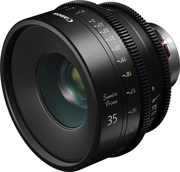Canon Sumire Prime CN-E35mm T1.5 FP X