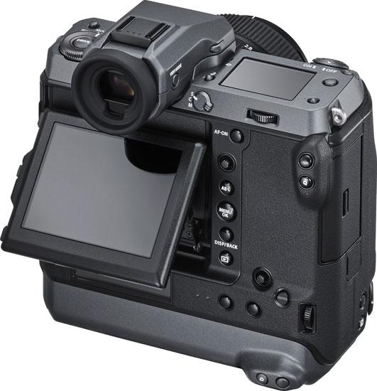 Fujifilm GFX100: Tilting LCD Touchscreen