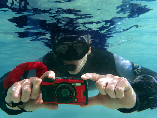 Olympus TOUGH TG-6 (red): Underwater Shooting: Image Courtesy of Olympus