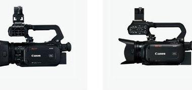 Canon (left to right): XA55/XA50 and XA45/40