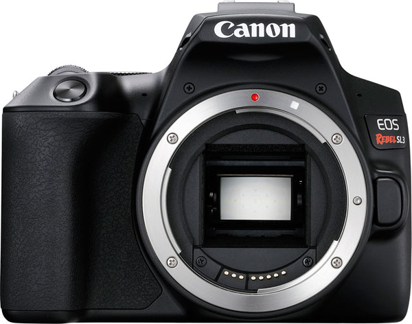 Canon EOS Rebel SL3, Black