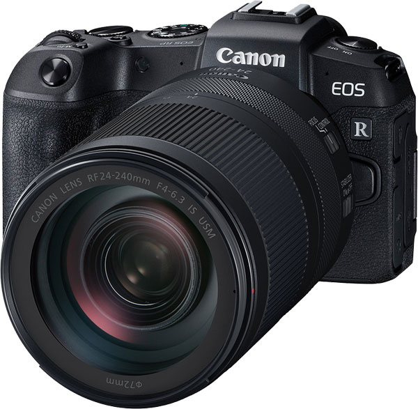 Canon EOS RP with RF 24-240MM F4-6.3 IS USM