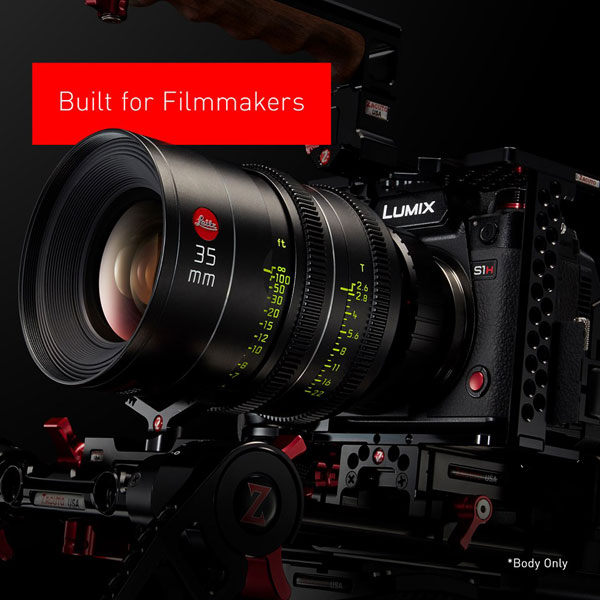 Panasonic LUMIX S1H: Cinematic Performance