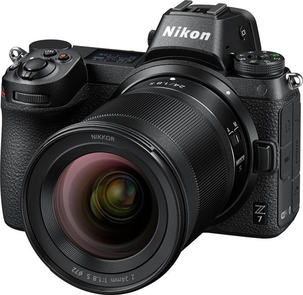 NIKKOR Z 24mm f/1.8 S on Nikon Z 7 Full-frame Mirrorless camera