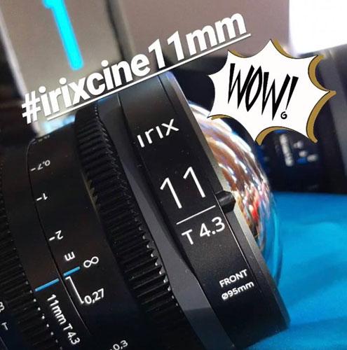 Irix Cine 11mm T4.3: Image Courtesy of Irix