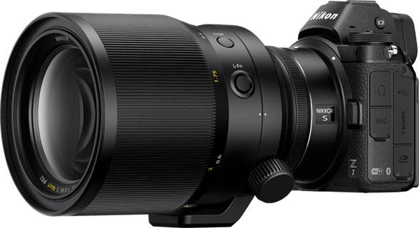 Nikon NIKKOR Z 58mm f/0.95 S Noct on Nikon Z 7