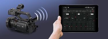 Panasonic Camcorder: Wireless remote control