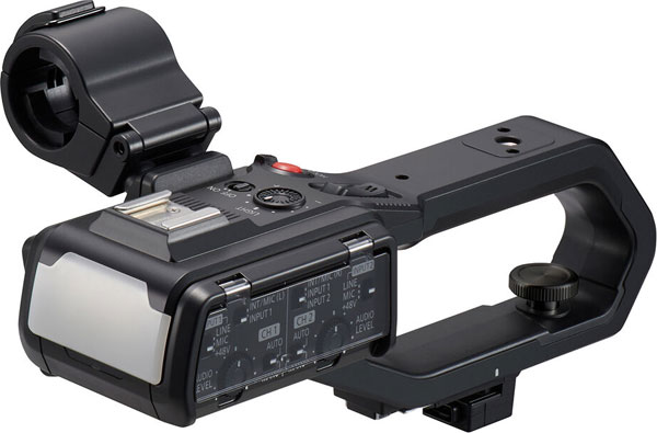 Panasonic VW-HU1: An optional Handle Unit