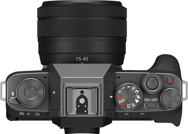 Fujifilm X-T200, Dark Silver, with XC15-45mm45mmF3.5-5.6 OIS PZ lens