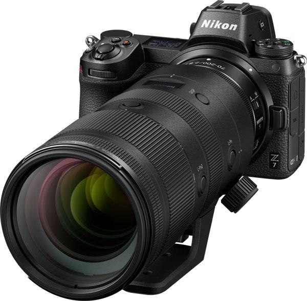 Nikon NIKKOR Z 70-200mm f/2.8 VR S lens with Nikon Z 7 mirrorless camera