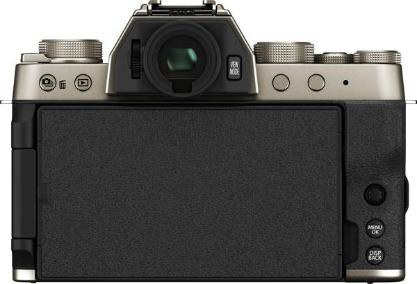 Fujifilm X-T200, Champagne: LCD closed