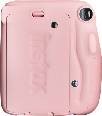 Fujifilm INSTAX Mini 11, Blush Pink: back view