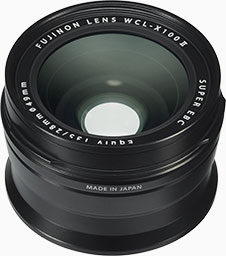 Fujifilm wide conversion lens (WCL-X100 II)