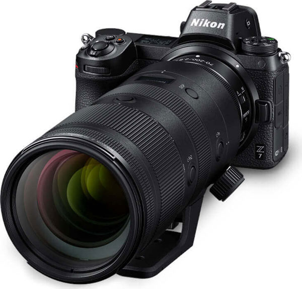 Nikon Z 7 with NIKKOR Z 70-200mm f/2.8 VR S