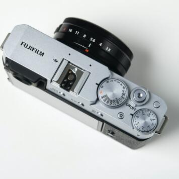 Fujifilm X-E4 Top View