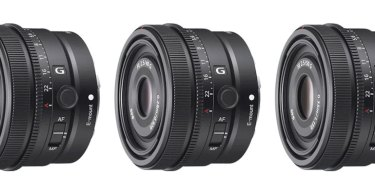 Sony FE 24mm F2.8 G, FE 40mm F2.5 G and FE 50mm F2.5 G