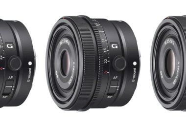 Sony FE 24mm F2.8 G, FE 40mm F2.5 G and FE 50mm F2.5 G