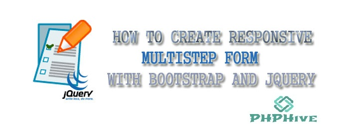 Create Responsive MultiStep Form with Bootstrap and Jquery