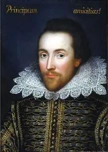 Cobbe family portrait of William Shakespeare